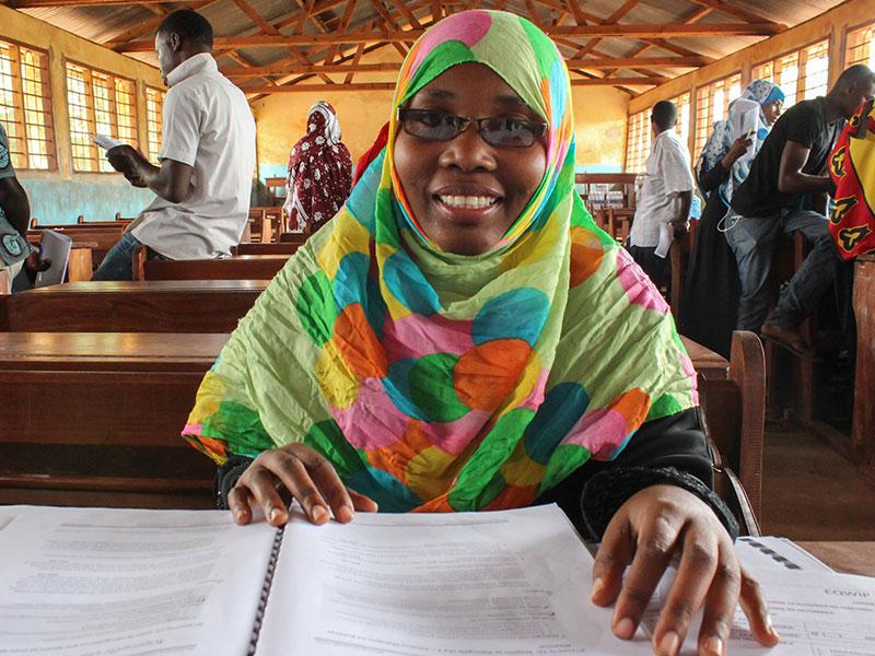 Facilitator of the first Leadership training in Zanzibar